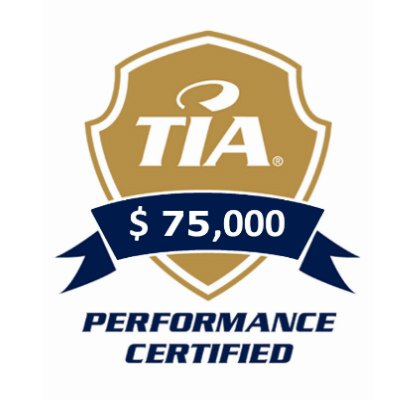 Performance Logo 75,000